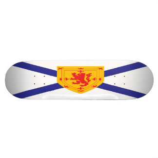 Nova Scotia Flag Skateboard