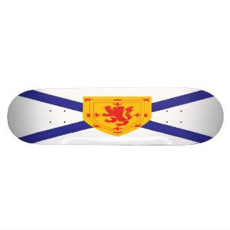 Nova Scotia Flag Skateboard