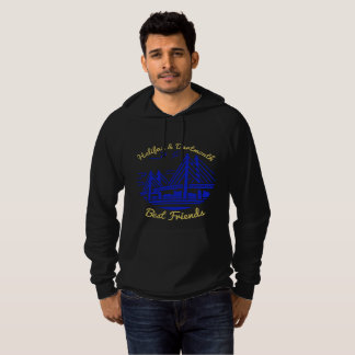 Nova Scotia Halifax Dartmouth Best friends blue Hoodie