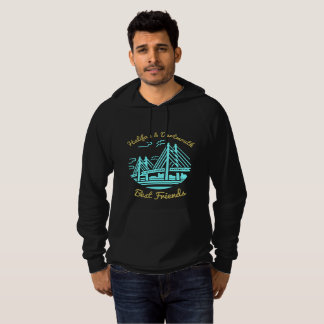 Nova Scotia Halifax Dartmouth Best friends buds Hoodie