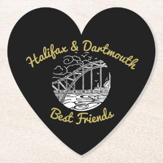 Nova Scotia Halifax & Dartmouth drink coaster