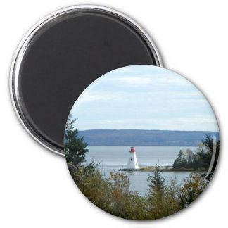 Nova Scotia Lighthouse 6 Cm Round Magnet