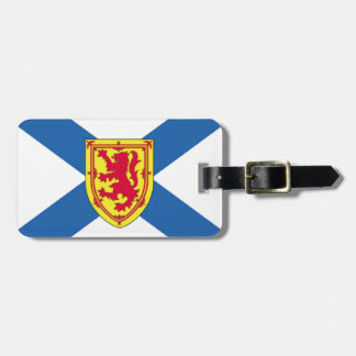 Nova Scotia Luggage Tag