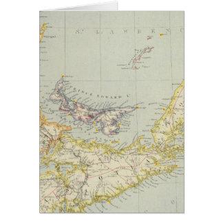 Nova Scotia, Prince Edward Island, Newbrunswick Greeting Card