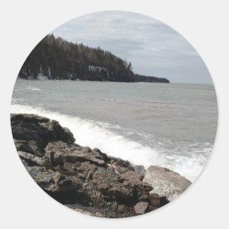 nova scotia sea coast sticker