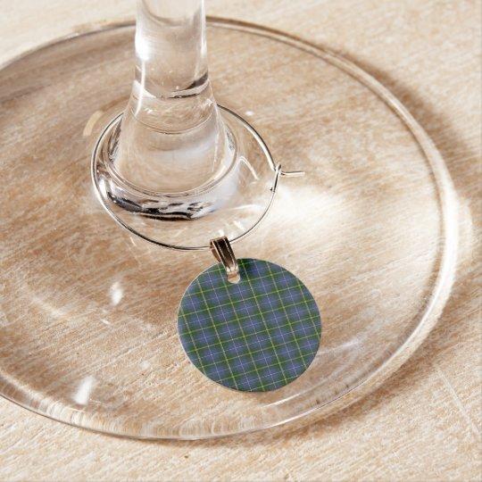 Nova Scotia Tartan Christmas Wine Charms