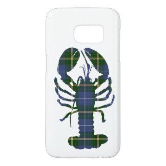 Nova Scotia tartan plaid phone case lobster