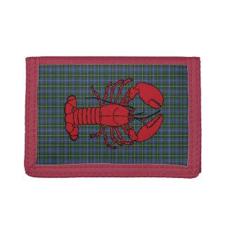 Nova Scotia Tartan Wallet lobster