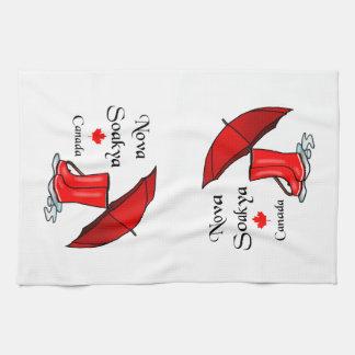 Nova Soakya, Canada Tea Towel