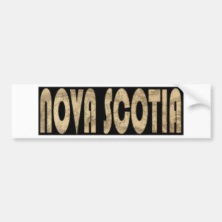 novascotia1834 bumper sticker