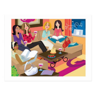 Novel Ladies Postcard