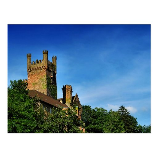 novel TIC castle Postcard