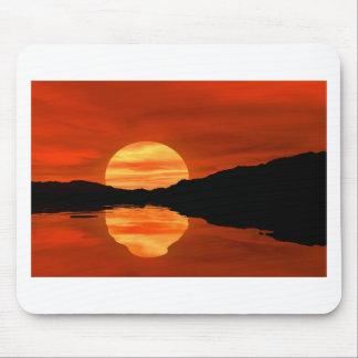 Novel TIC sunset Mousepad
