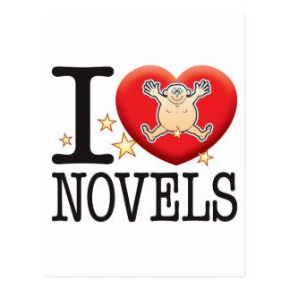 Novels Love Man Postcard