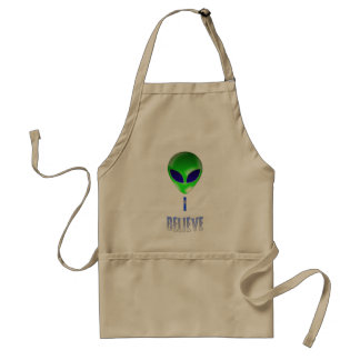 Novelty Alien Designs Apron