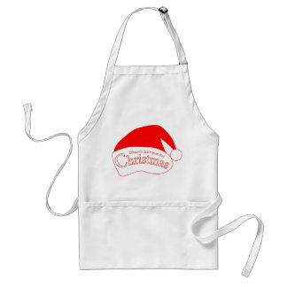 novelty christmas apron