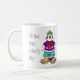 Novelty Christmas Bear Coffee Mug