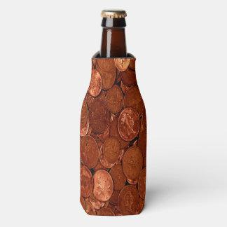 Novelty Copper Coins Bottle Cooler