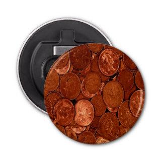 Novelty Copper Coins Bottle Opener
