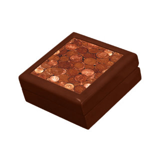 Novelty Copper Coins Gift Box