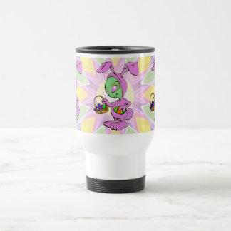 Novelty Easter Bunny Alien Design Mugs