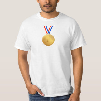 Novelty Gold Medal, First Place T-Shirt