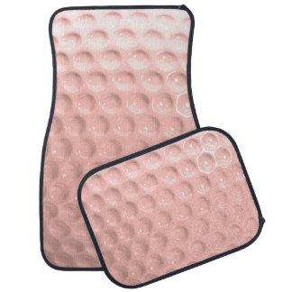 Novelty Golf Ball Sport Pink Car Mat