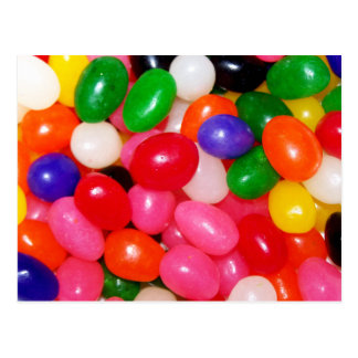 Novelty Jellybeans Postcard
