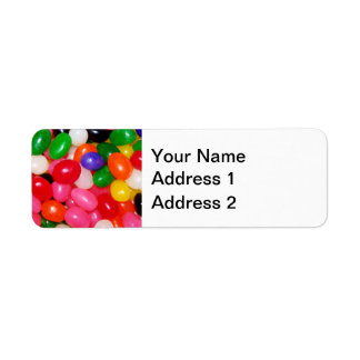 Novelty Jellybeans Return Address Label