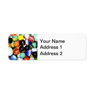 Novelty Marble Collection Return Address Label
