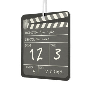 Novelty Personalised Unique Movie Clapperboard