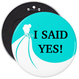Novelty Sized Bride To Be Flair 6 Cm Round Badge