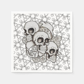 November 1 DOD Party Paper Napkins