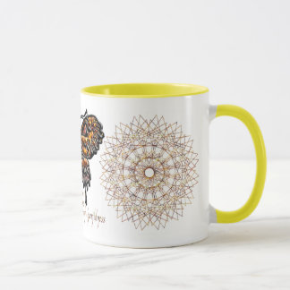 November Birthstone Butterfly Mug