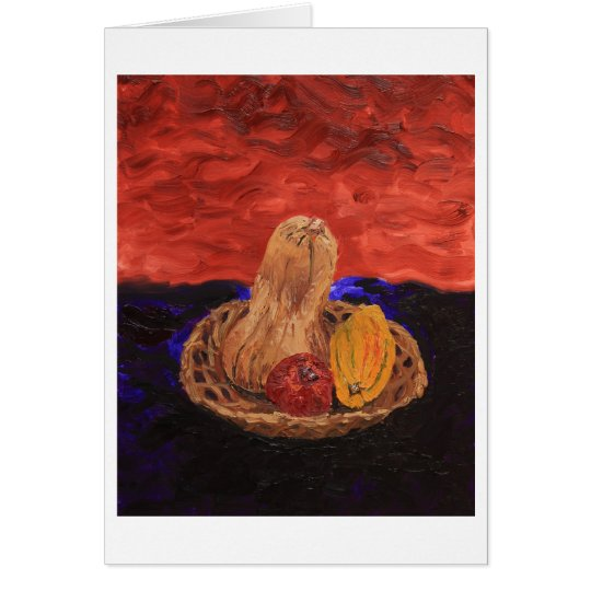 November Harvest Card