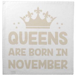 November Queen Napkin