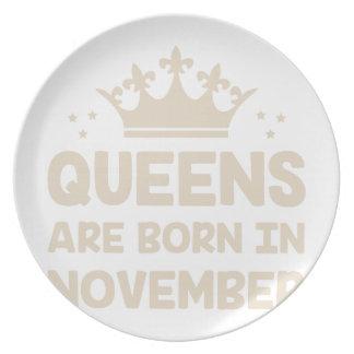 November Queen Plate