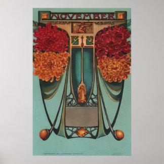 November - Sagittarius Poster