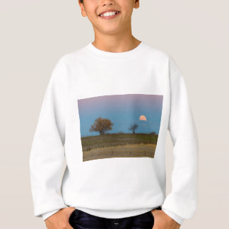 November Supermoon Rising Sweatshirt