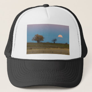 November Supermoon Rising Trucker Hat