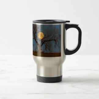 November Supermoon Tree Travel Mug
