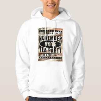 November Tea Party Hooded Pullovers