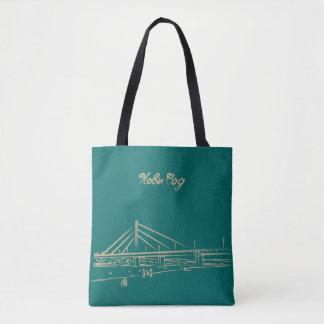 Novi Sad Serbia Nostalgic Elegant Liberty Bridge Tote Bag