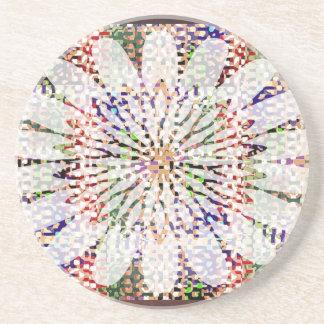 NOVINO Blooming Happy Heart Drink Coaster