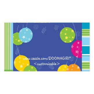 NOVINO : BLUE BALLOONS EVENT MANAGEMENT PRINT PACK OF STANDARD BUSINESS CARDS