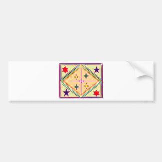 NOVINO Diamond n Stars : Healing Series Car Bumper Sticker