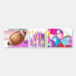 NOVINO Happy Birthday - Happy Occassions Car Bumper Sticker