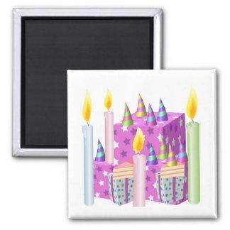 NOVINO Happy Birthday - Happy Occassions Square Magnet
