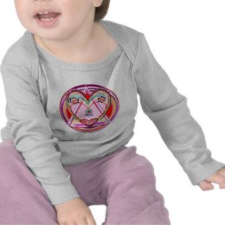 NOVINO Heart Chakra -  Artistic Presentation Shirt