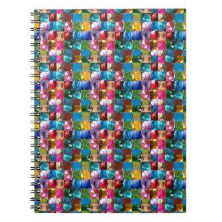 NOVINO Jewel Crystal Stones Healing Reiki Art GIFT Note Books